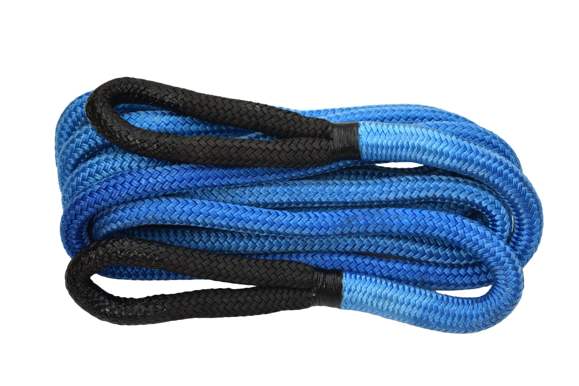 "Blue 7/8""×30ft QIQU Kinetic Recovery Rope  Car Towing Rope for Off-Road 4x4 SUV Truck"