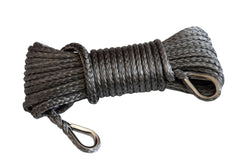 Grey QIQU 1/4 inch Winch Extension Rope