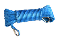 Blue QIQU 1/4 inch Winch Extension Rope