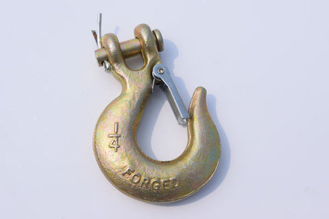 G70 Steel Clevis Hook for towing winch rope recovery