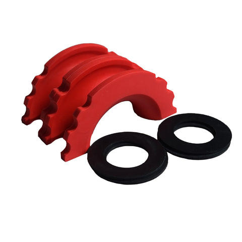 QIQU D-Ring Shackle Isolator