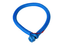 QIQU blue 6mm*150mm UHMWPE Fiber Braided Soft Shackle