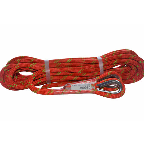 QIQU Nylon Braided Rescue Rope for Outdoor Sports Rescue Arborist