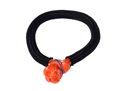 QIQU orange 9mm*150mm UHMWPE Fiber Braided Soft Shackle