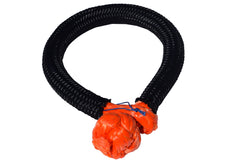 QIQU orange 12mm*150mm UHMWPE Fiber Braided Soft Shackle