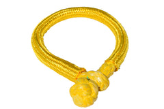 QIQU yellow 12mm*150mm UHMWPE Fiber Braided Soft Shackle