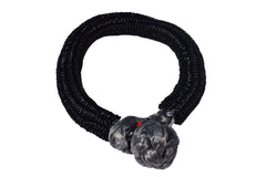 QIQU grey 12mm*150mm UHMWPE Fiber Braided Soft Shackle