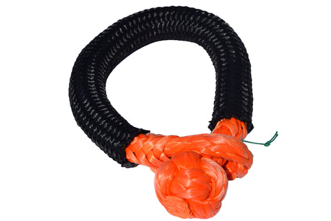 QIQU orange 14mm*150mm UHMWPE Fiber Braided Soft Shackle