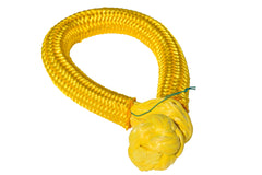 QIQU yellow 14mm*150mm UHMWPE Fiber Braided Soft Shackle