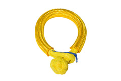 QIQU yellow 6mm*80mm UHMWPE Fiber Braided Soft Shackle