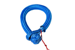 QIQU blue 6mm*80mm UHMWPE Fiber Braided Soft Shackle