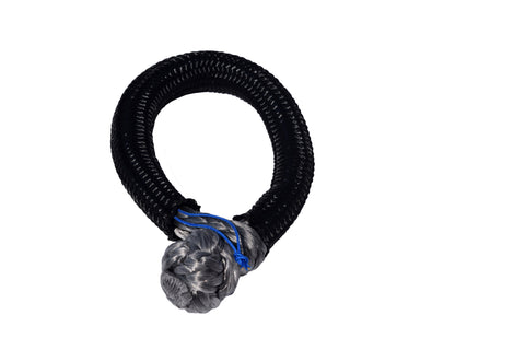 QIQU grey 8mm*80mm UHMWPE Fiber Braided Soft Shackle