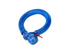 QIQU blue 8mm*80mm UHMWPE Fiber Braided Soft Shackle