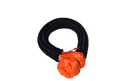 QIQU orange 10mm*80mm UHMWPE Fiber Braided Soft Shackle