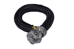 QIQU grey 10mm*80mm UHMWPE Fiber Braided Soft Shackle