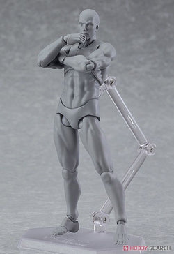 - figma Archetype Next: He - Gray Color Ver. PVC Figure