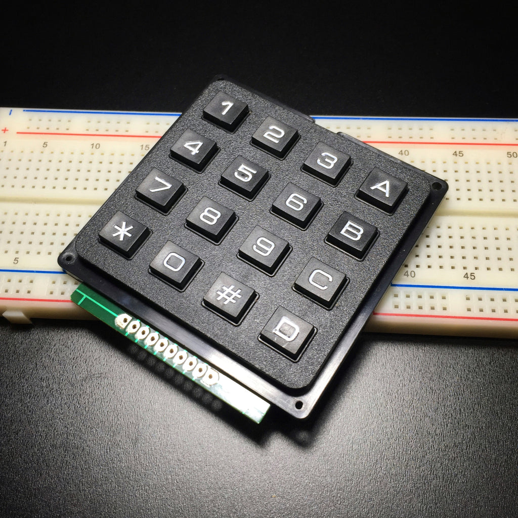 4 x 4 Matrix Array 16 Numeric Keypad Module for Arduino