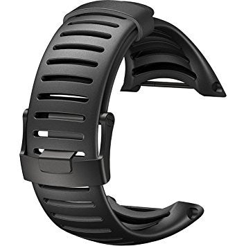 For Suunto Core Standard Strap All Black One Size