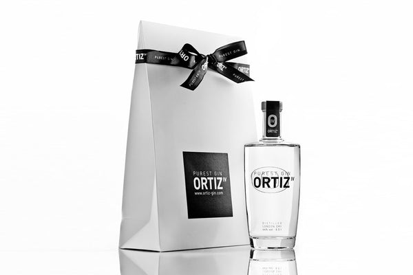 1 bottle<br>ORTIZ IV PUREST GIN<br>0.5l • Present