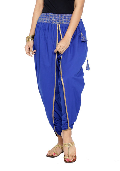Cotton Hand Block Printed Dhoti Pants