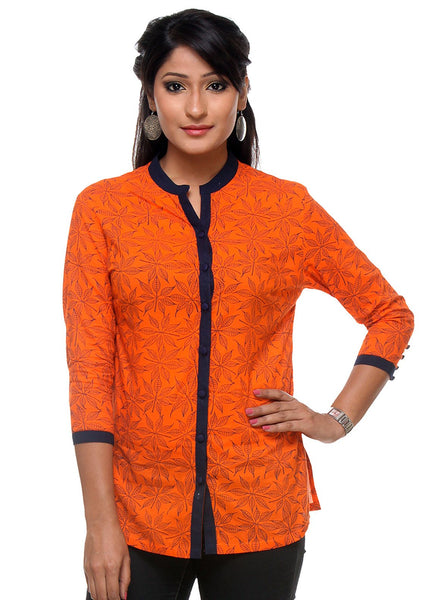 Cotton Hand Block Printed Tunic