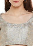 Semi Brocade Blouse