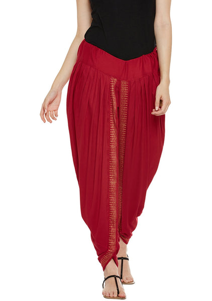 Cotton Viscose Block Printed Dhoti