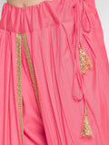 Cotton Viscose Embellished Dhoti