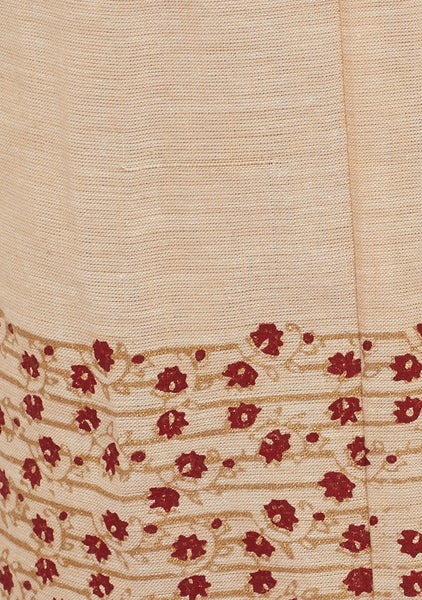 Cotton Mangalgiri Block Printed Pant Set