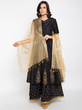 Organza Boota Embroidered Dupatta