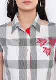 Cotton Hand Block Printed Shirt Short Kurta Set