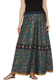 Cotton Block Printed Skirt