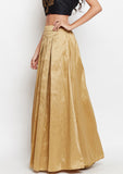 Studiorasa Semi-Dupion Box Pleated Skirt