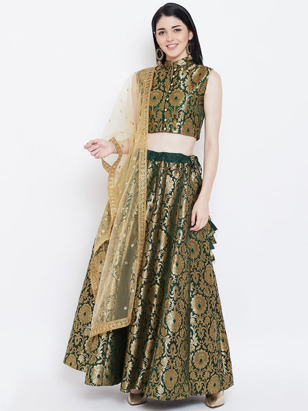 Brocade Kalidaar Skirt