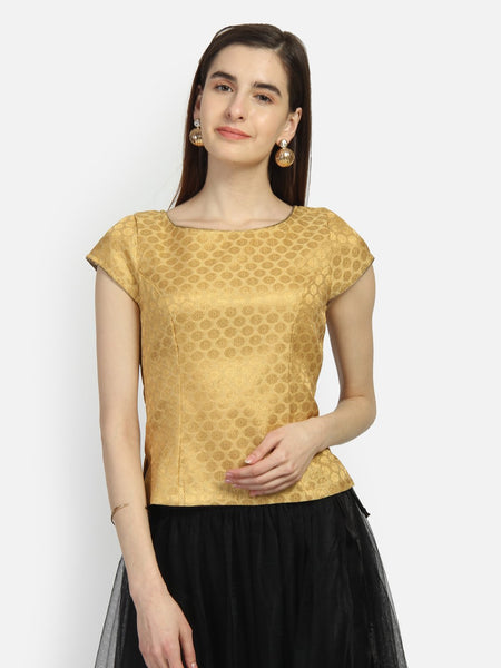 Brocade Princess Cut Koti Top