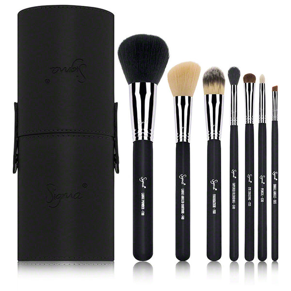 Sigma Beauty Travel Kit - Make Me Classy - Black (8 piece)