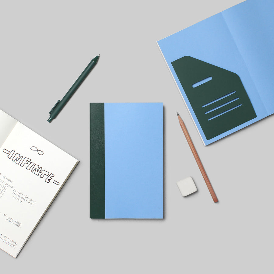 Exercise Book - PASTEL BLUE