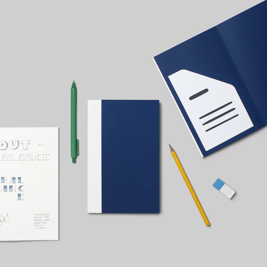 Exercise Book - PRUSSIAN BLUE