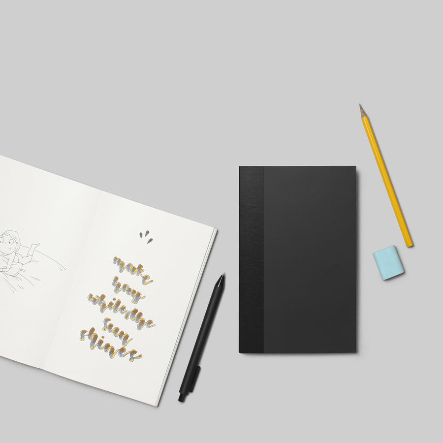 Scribble Book - BLACK