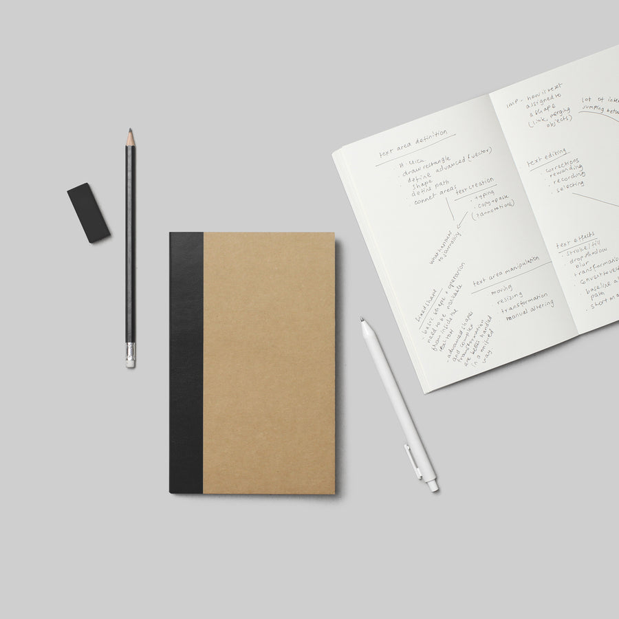 Scribble Book - KRAFT