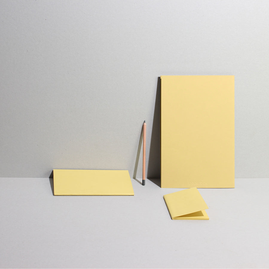 Sketch-Note | Monolith -  PASTEL YELLOW