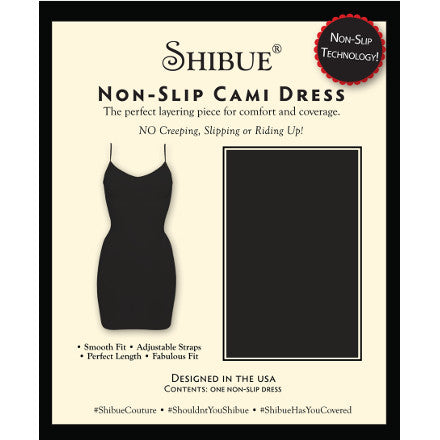 Non-Slip Cami Dress - Shibue Couture UK