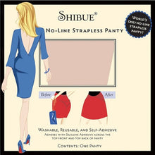 Shibue No-Line Strapless Panty -  Classic - Shibue Couture UK