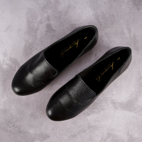 Kelly Loafer – Black - Kaali Leather Apparel