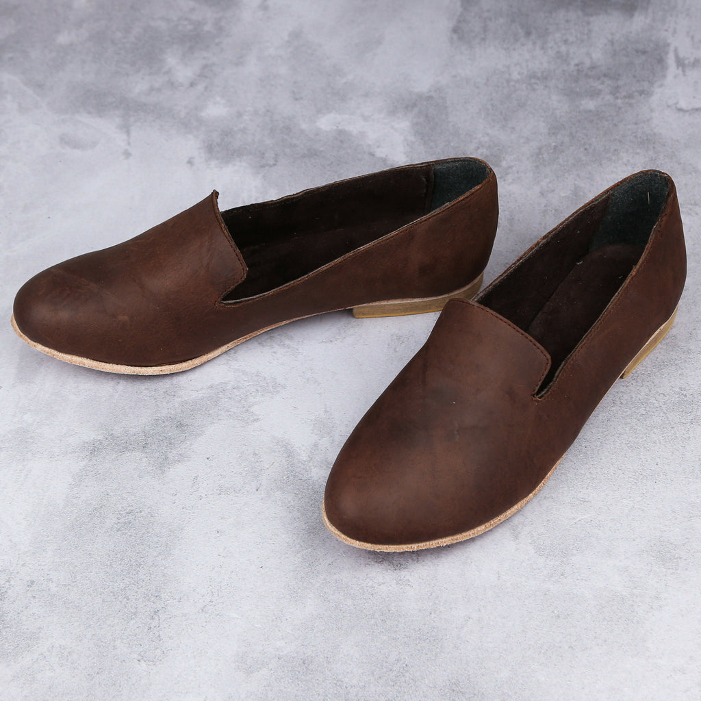 Kelly Loafer – Dark Brown - Kaali Leather Apparel