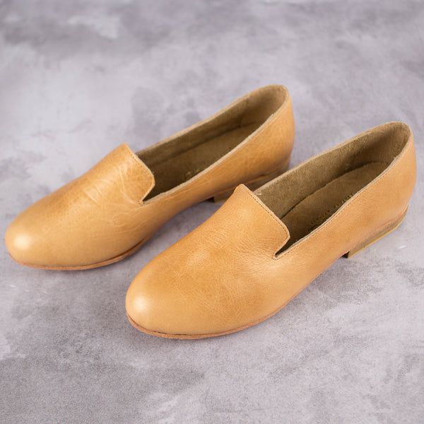 Kelly Loafer – Hazelnut - Kaali Leather Apparel