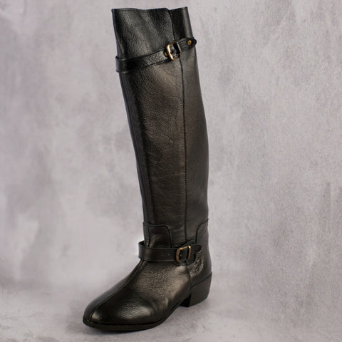 Rae Boot - Black - Kaali Leather Apparel