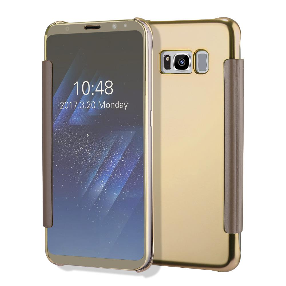 Galaxy S8, S8 Plus Window Clear UV Hard Case