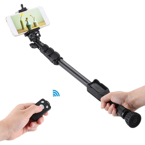 Selfie Stick with Wireless Bluetooth Remote Shutter