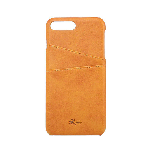 iPhone 7, 7 Plus Leather Luxury Wallet Card Case